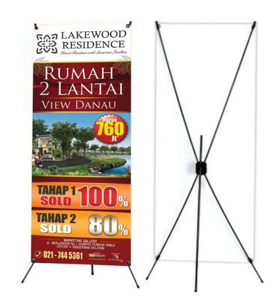 Mangrove Printing Cetak X-Banner Termurah dan Berkualitas di Jayapura