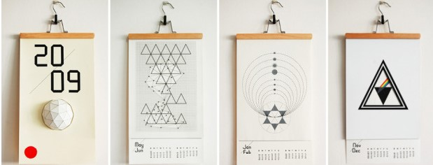 Desain kalender paling keren dan unik